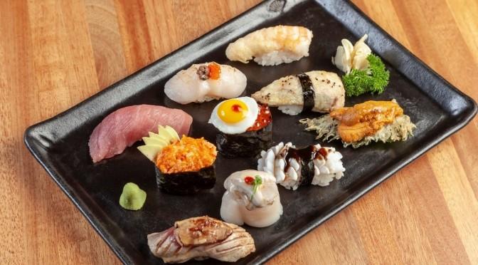 Para os amantes da culinária nipônica, restaurantes oferecem versões exclusivas do Menu Degustação